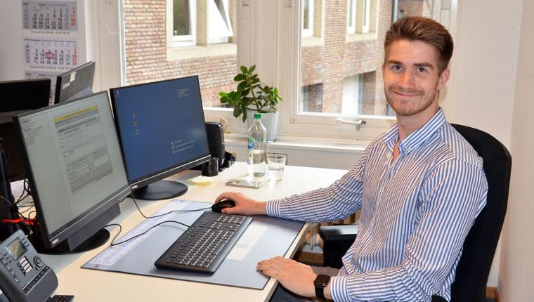 Kaufmann für Büromanagement Felix Jacobs