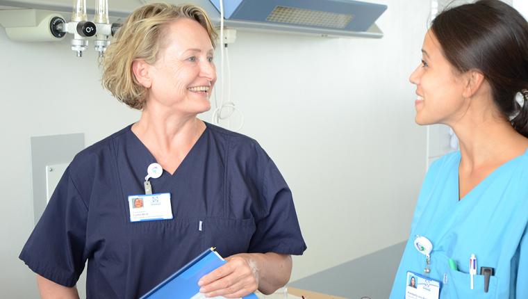 Krankenpflegerin und Pflegetrainerin Lydia Wolf