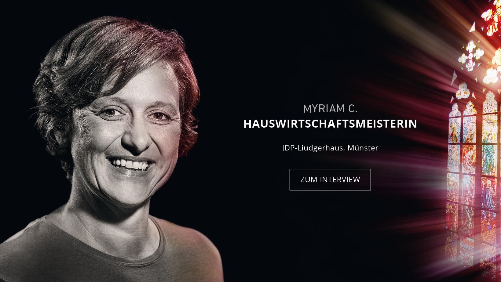 Erfahren Sie mehr über Hauswirtschaftsmeisterin Myriam Curtis