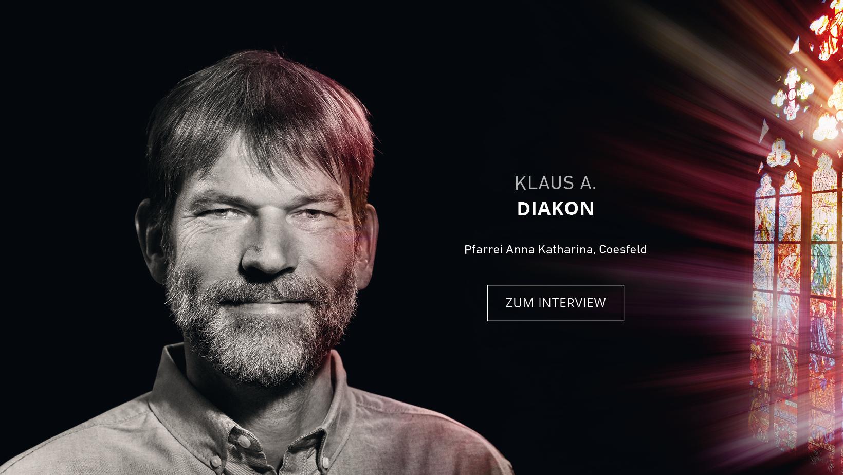 Diakon Klaus Abel