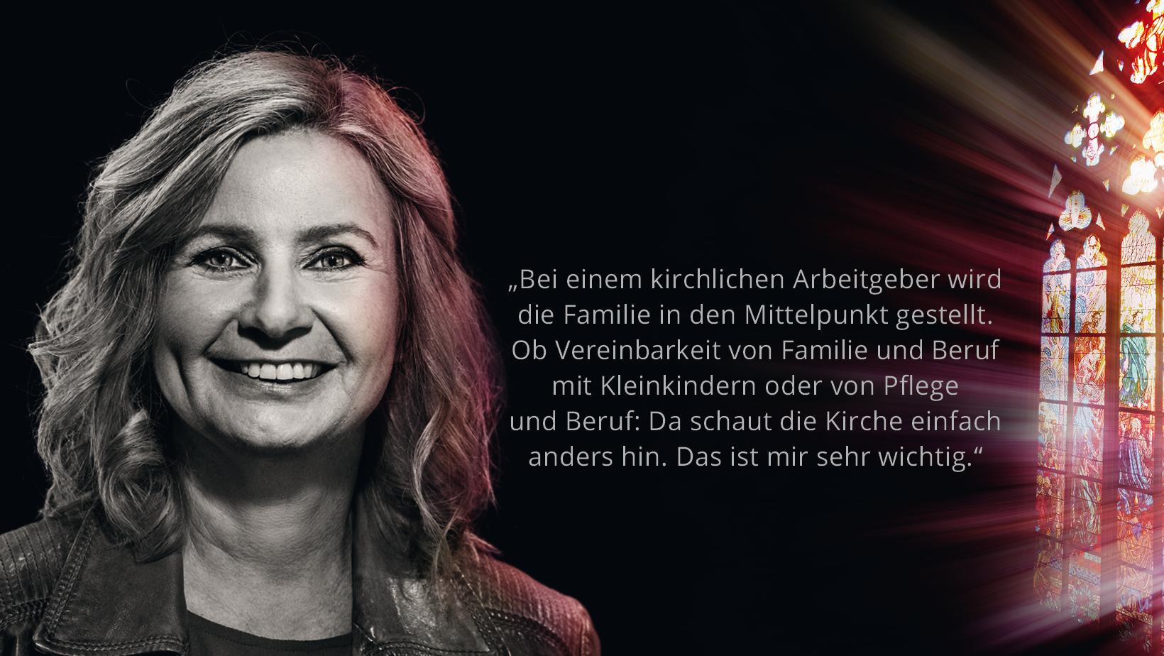 Bildungsreferentin Veronika Büscher