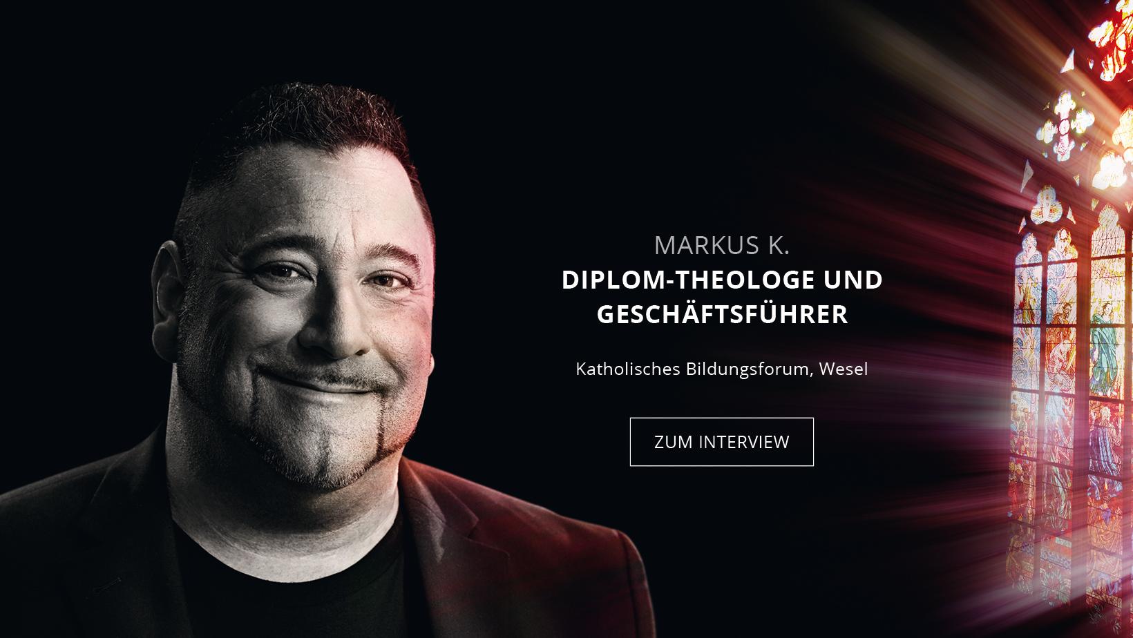Diplom-Theologe und Geschäftsführer Markus Kuhlmann