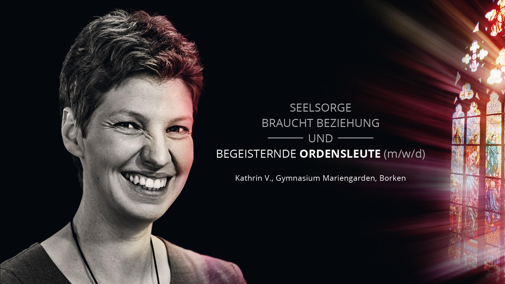 Ordensschwester Kathrin Vogt
