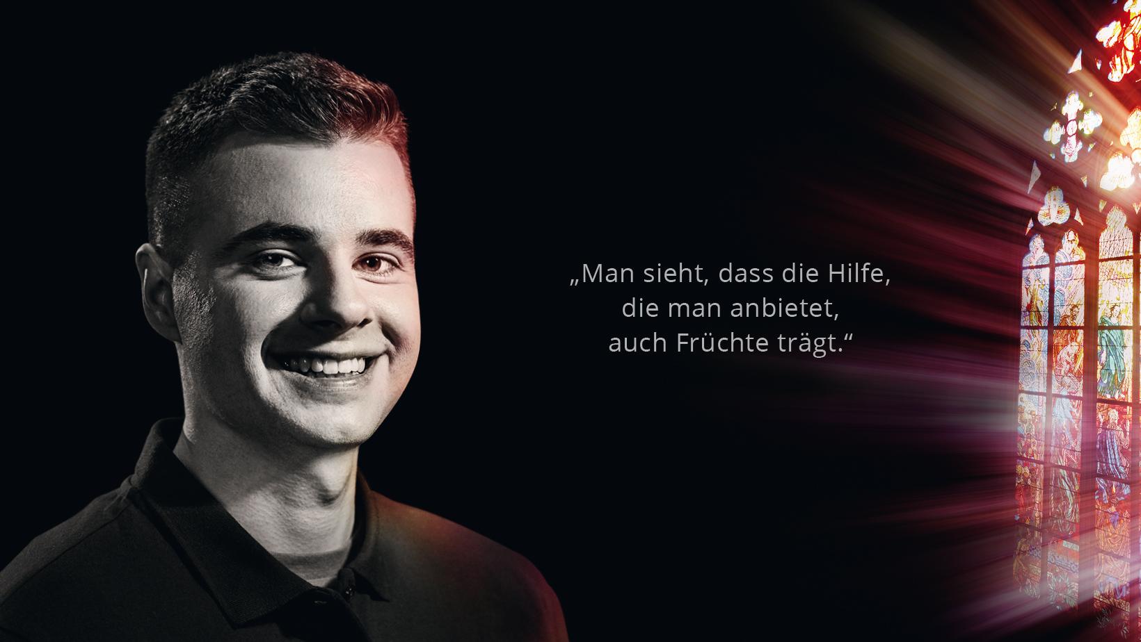 Krankenpfleger Marco Kulwicki