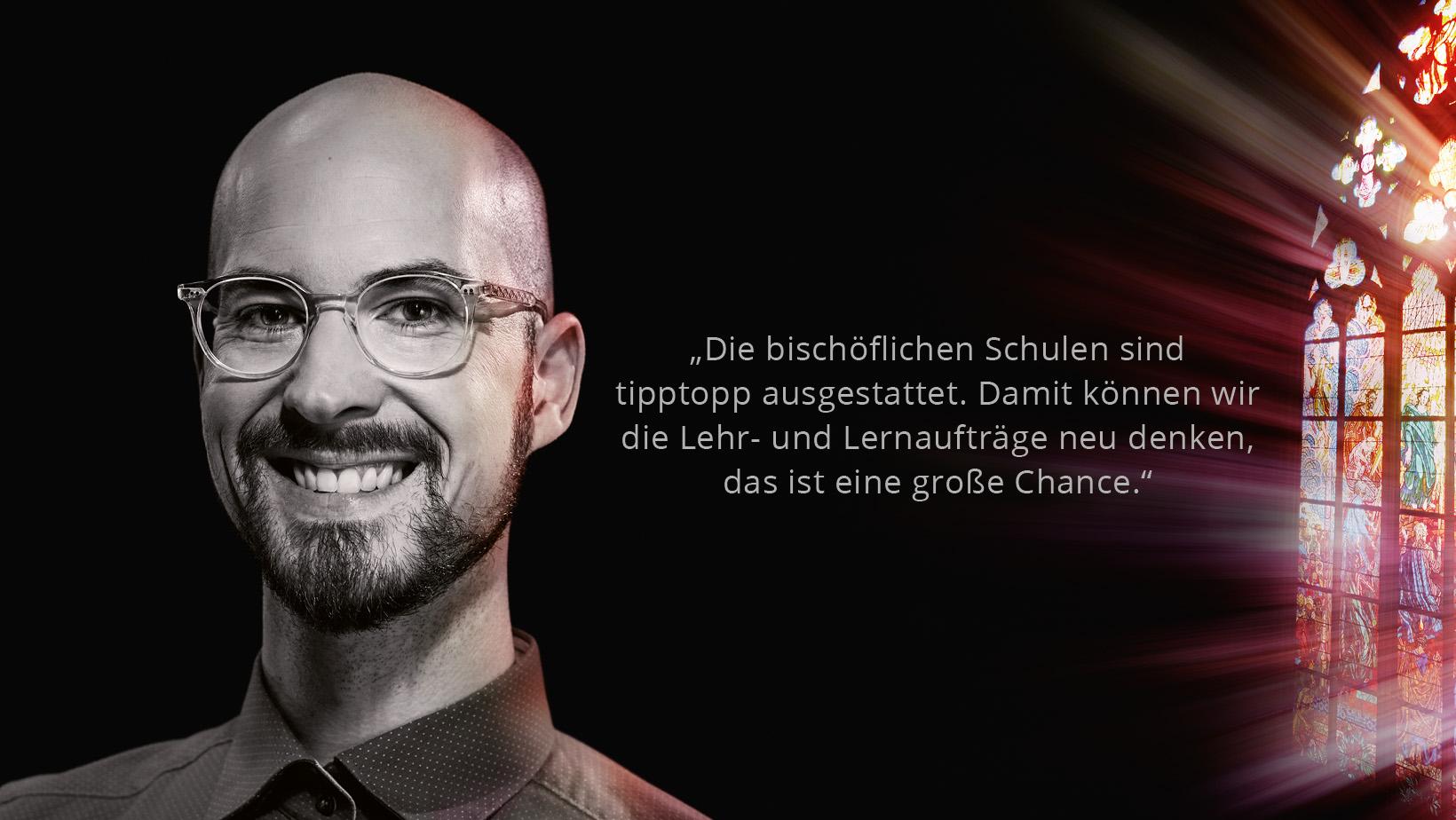 Lehrer Sebastian Kornek