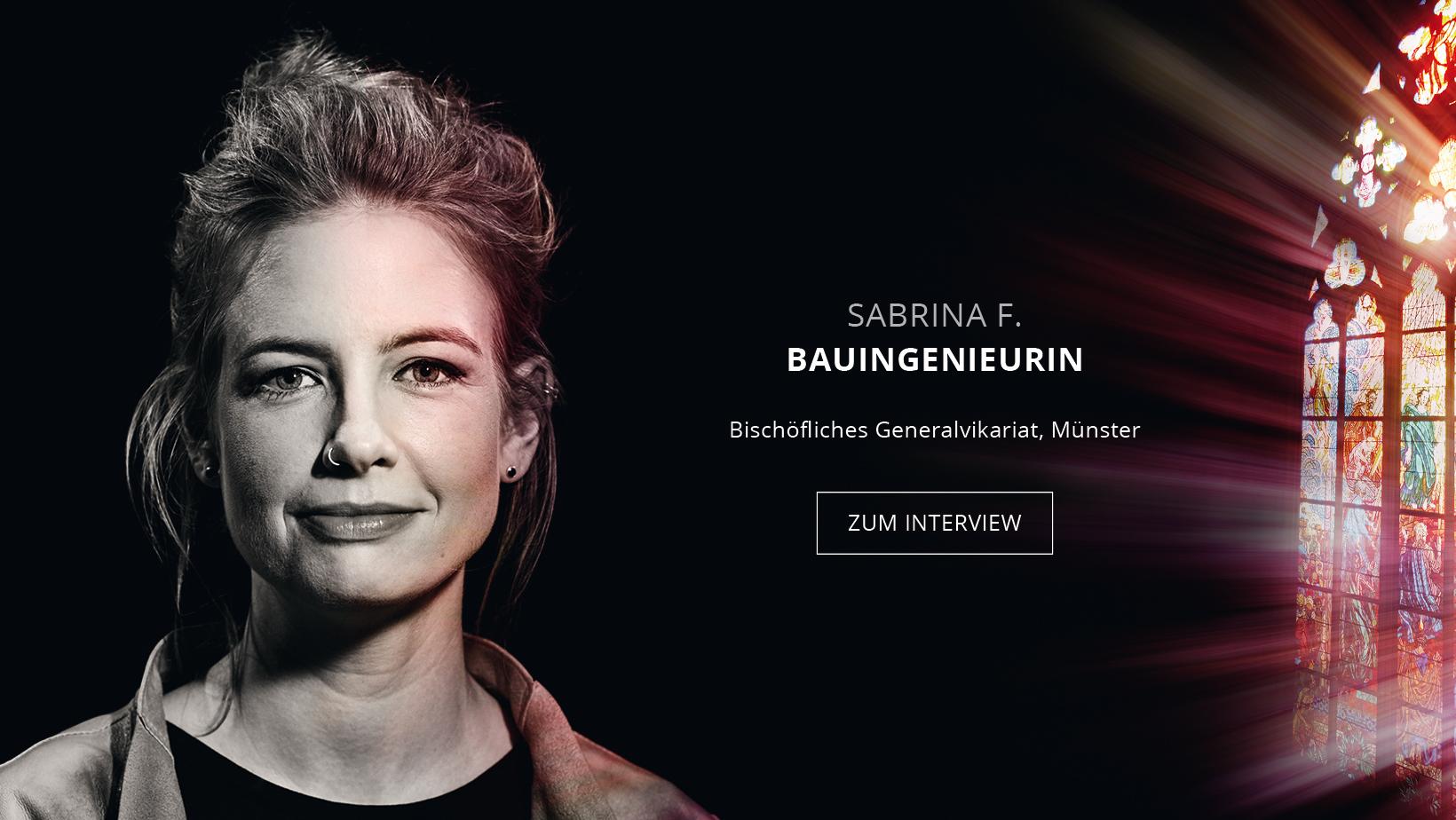 Bauingenieurin Sabrina Friedrich