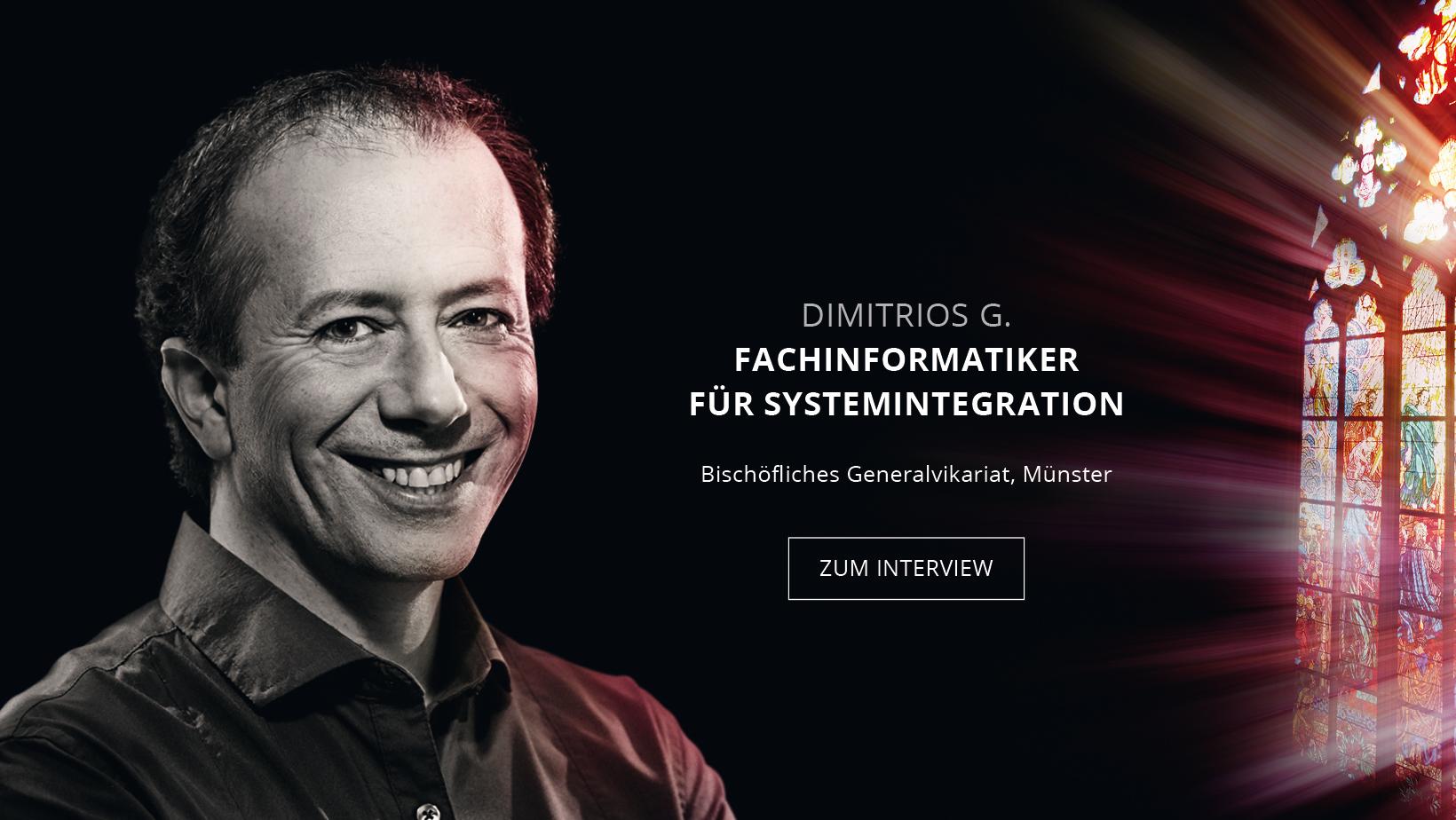 IT-Techniker Dimitrios Gieske