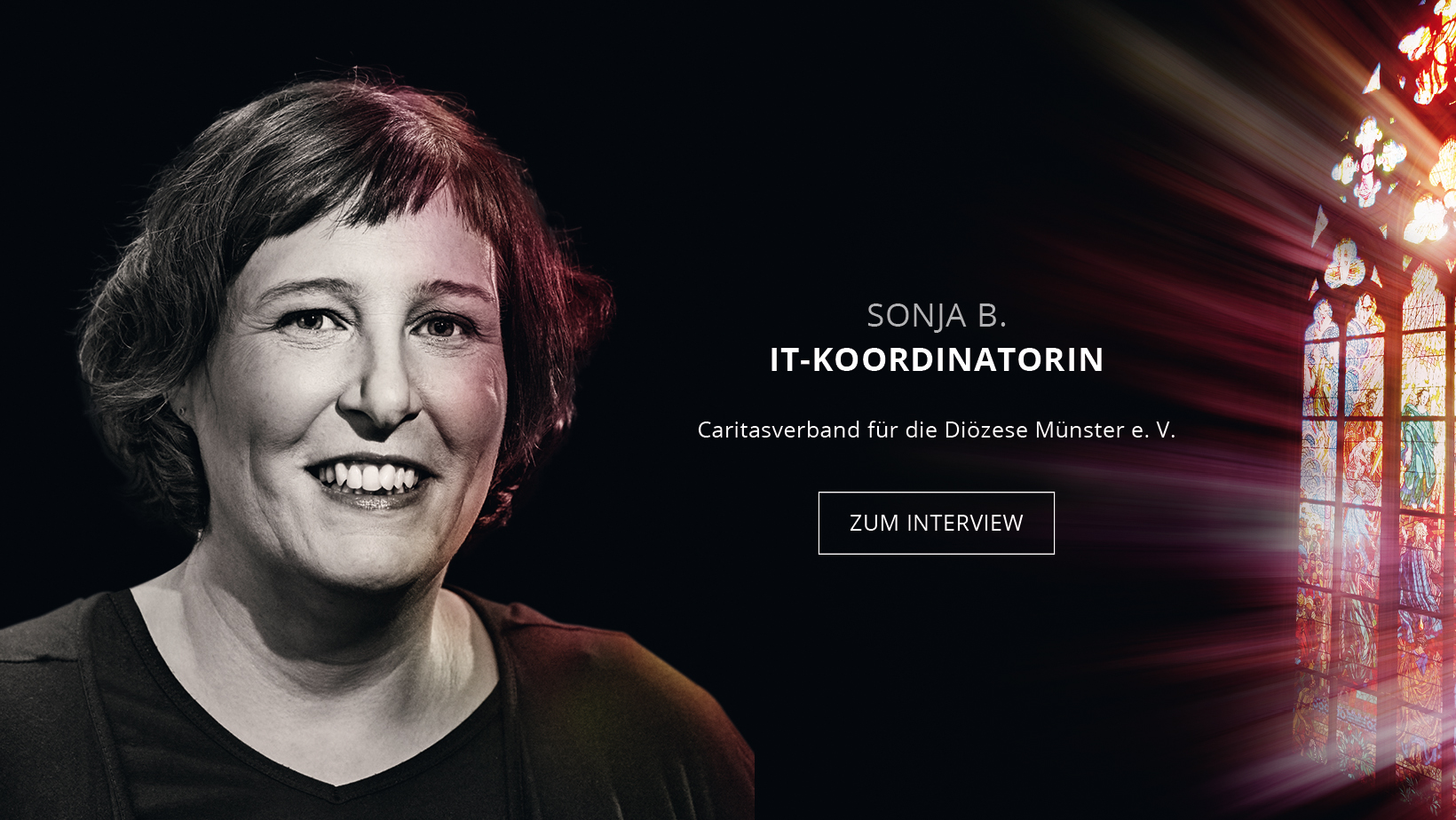IT-Koordinatorin Sonja Buschkötter
