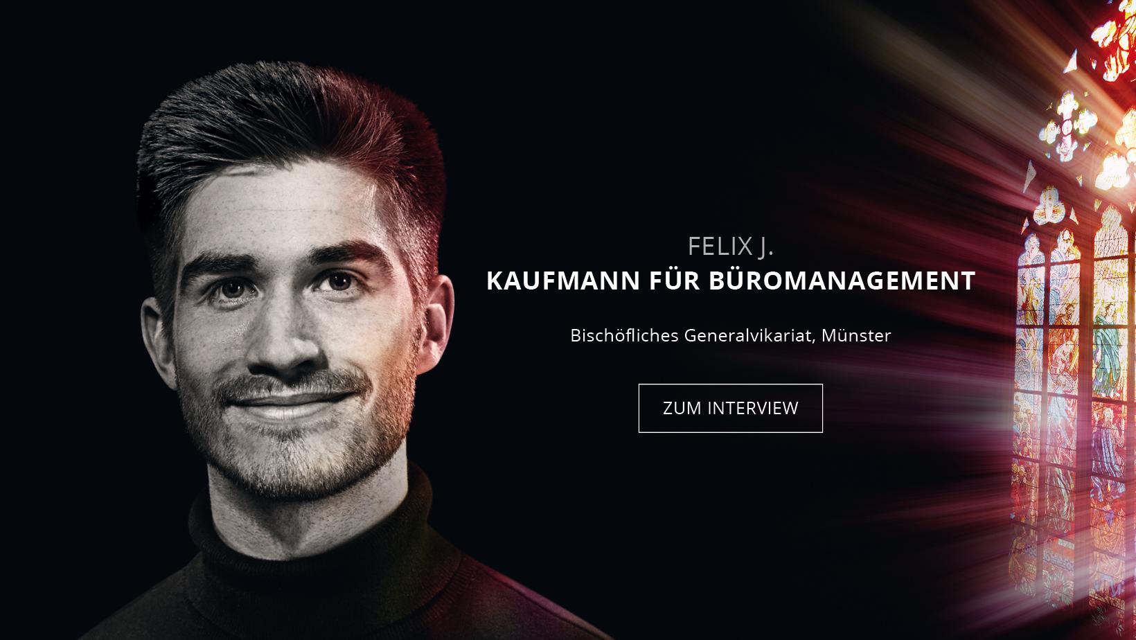 Kaufmann für Bürokommunikation Felix Jacobs