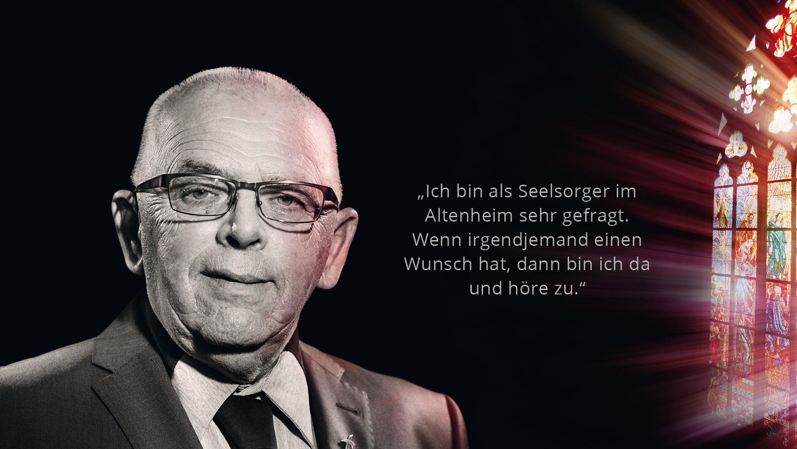 Diakon Helmut van den Berg
