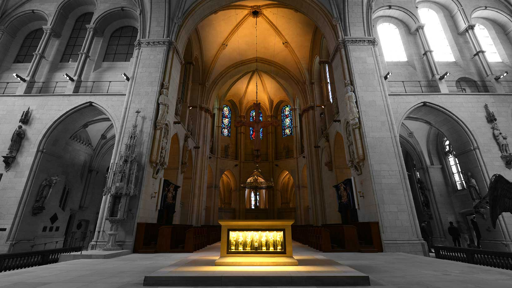 Innenansicht des Paulusdoms in Münster